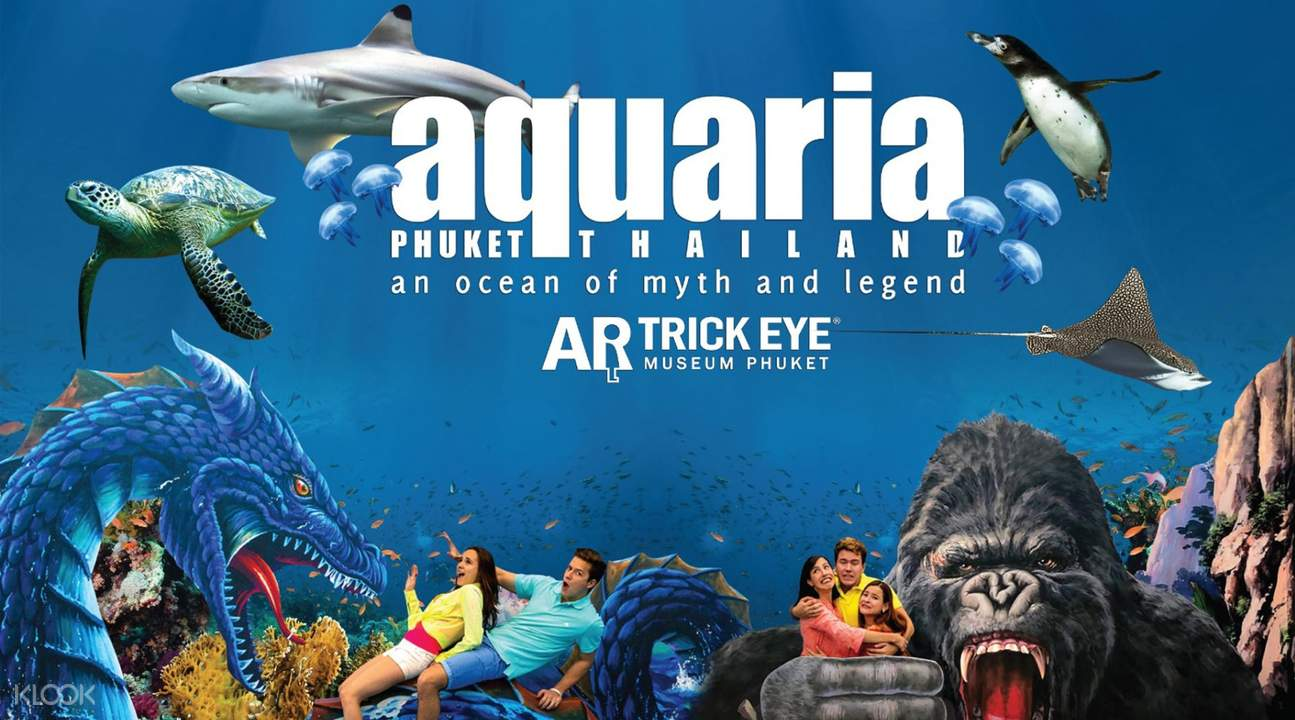 Aquaria and Trickeye Museum banner